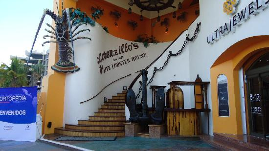 Our dinner restaurant in the marina, Lorenzillo's, Cabo San Lucas