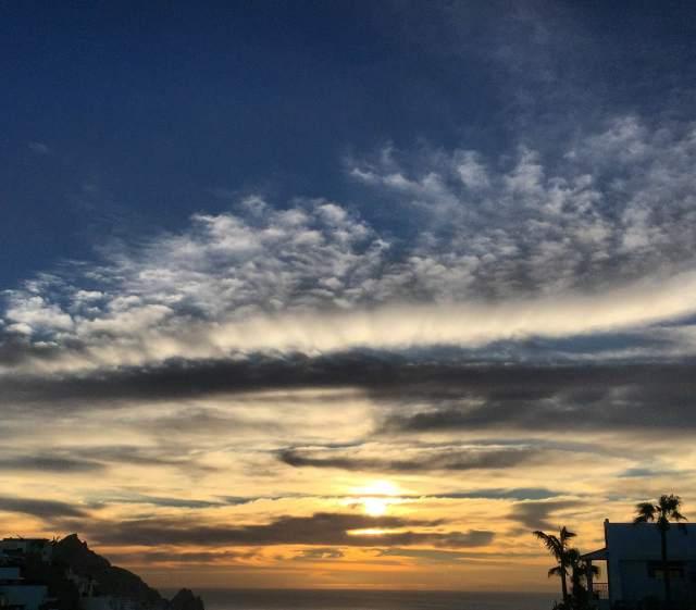 Sunrise in Cabo San Lucas.--Photo by Bob Kochman