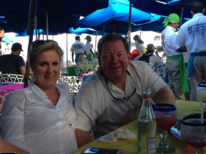 Janie and Todd at the Office
