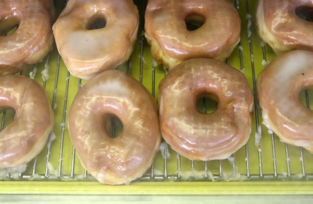 Happy National Donut Day, June 5.  Van's donuts, GR, Michigan