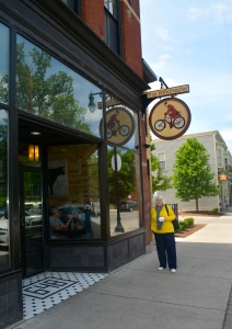 Mom at the Winchester on Wealthy in Grand Rapids, Michigan. ©Jean Janssen