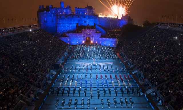 2014 Royal Edinburgh Military Tattoo.