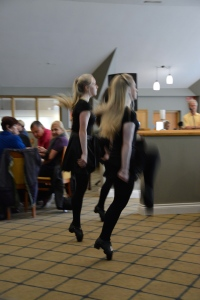 Young Riverdancers entertained us during lunch. ©Jean Janssen