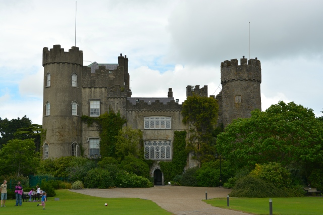 Malahide Castle outside Dublin, Ireland  ©Jean Janssen