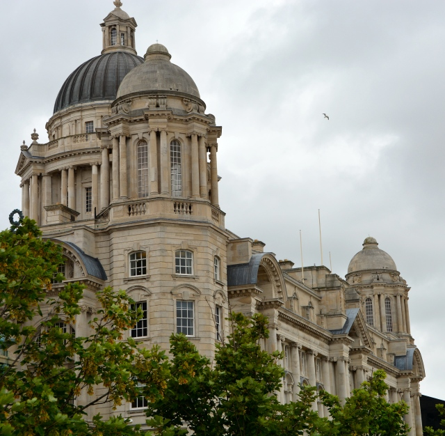 The customs house was build to wow transatlantic passengers. Mersey Waterfront, Liverpool England ©Jean Janssen