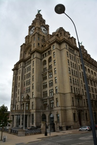 The Royal Liver Building on the Mersey Waterfront, Liverpool England Note the mythical Liver Birds on the top from whom the city draws its name ©Jean Janssen