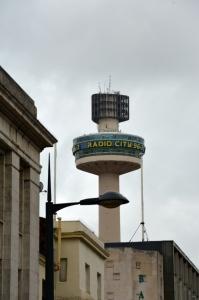 Radio Tower dominating the sky in Liverpool ©Jean Janssen