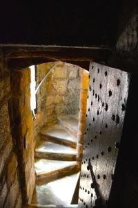 Narrow passageways in Castle Rushen, Isle of Man ©Jean Janssen