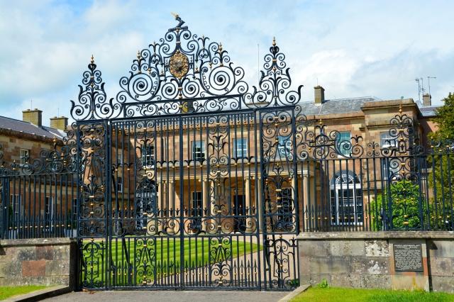 Hillsborough Castle, the Queen's residence in Northern Ireland. ©Jean Janssen