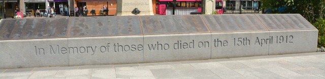 One of several Titanic memorials at Belfast City Hall, Northern Ireland ©Jean Janssen