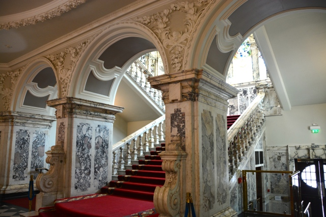 The Grand Staircase, Belfast City Hall, Northern Ireland ©Jean Janssen