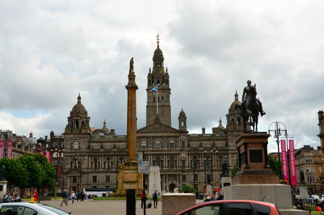 George Square, Glasgow, Scotland  ©Jean Janssen