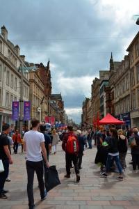Glasgow shoppers ©Jean Janssen