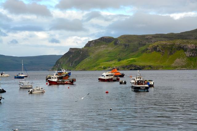 Bay at Portree, Isle of Skye, Scotland ©Jean Janssen