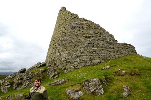Rocky at Dun Carloway Broch, Isle of Lewis, Outer Hebrides, Scotland ©Jean Janssen