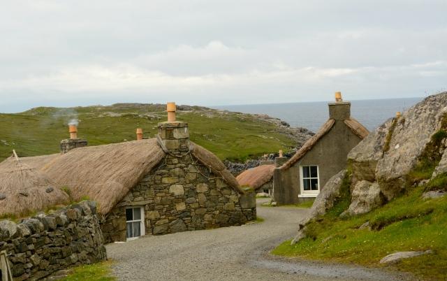 Blackhouse Village, Isle of Lewis, Scotland ©Jean Janssen