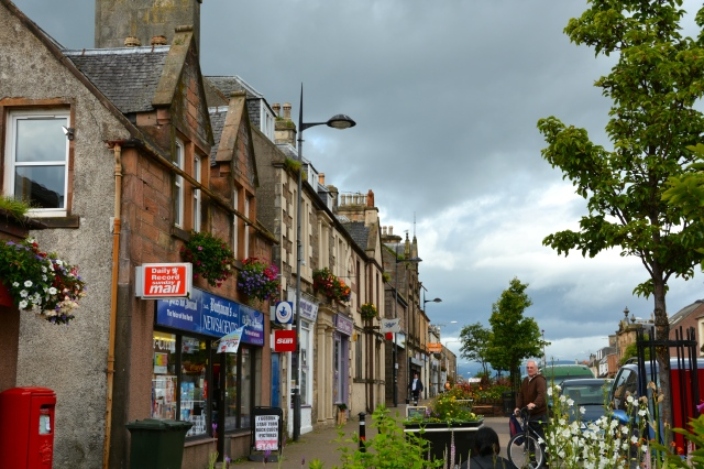 The charming port city of Invergordon, the Scottish Highlands ©Jean Janssen