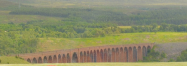 I had to shoot this from pretty far away and out of a bus window, but the aqueduct was used in the filming of one of the Harry Potter movies. ©Jean Janssen