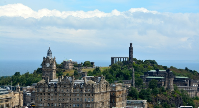 One of the city views from Edinburgh Castle ©Jean Janssen