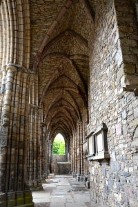 Holyrood Abbey ruins, Edinburgh, Scotland ©Jean Janssen