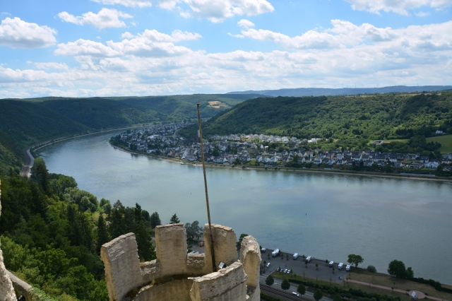 View of the Rhine from Marksburg Castle. ©Jean Janssen