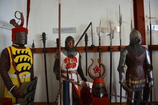 In the armoury, Marksburg Castle ©Jean Janssen