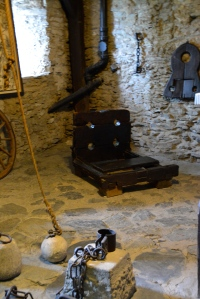 Instruments of torture in Marksburg Castle, Germany ©Jean Janssen