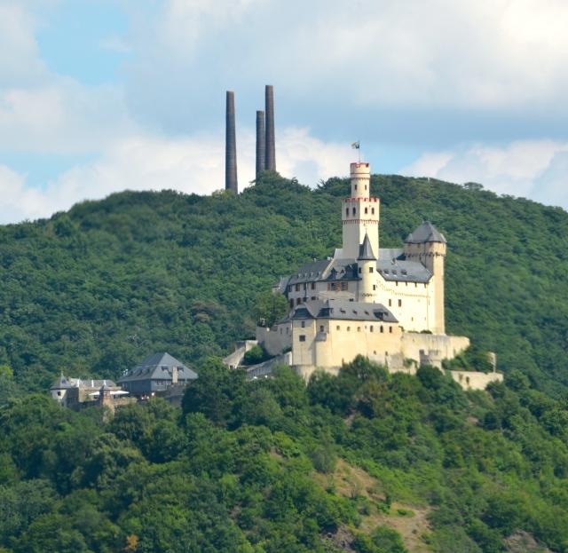 Marksburg Castle, Braubach, Germany ©Jean Janssen