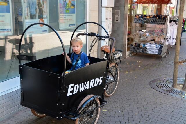 Along the shopping street in Boppard, Germany ©Jean Janssen
