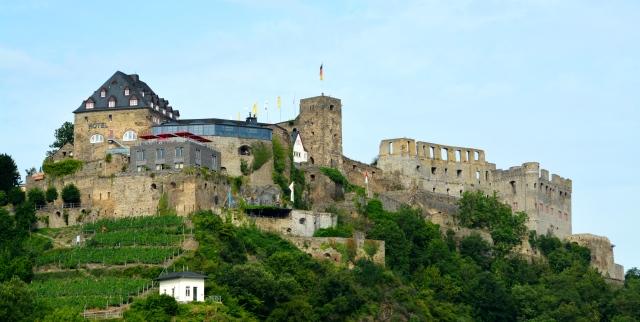 Castle along the Rhine, Germany ©Jean Janssen