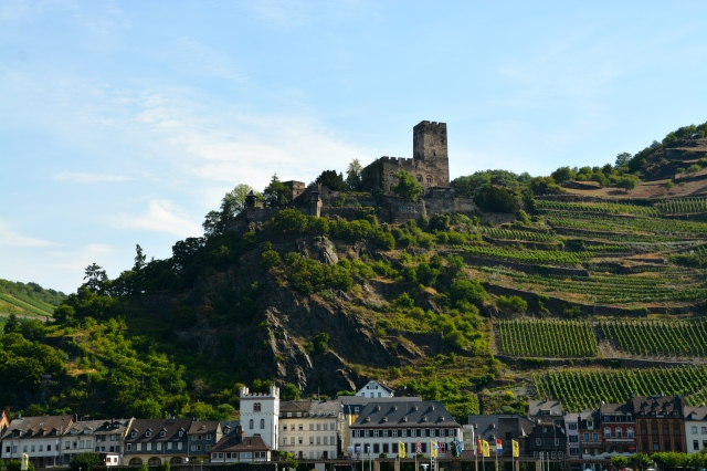 So much more to see than the castle, with the charming village below and the picturesque terrace farming. ©Jean Janssen