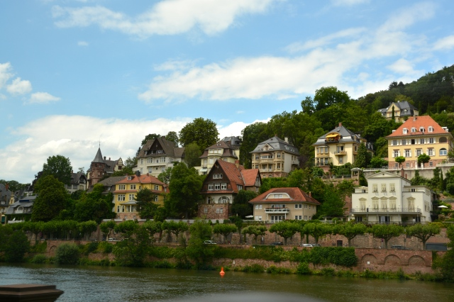 Homes along the river in Heidelberg, Germany. ©Jean Janssen