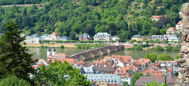 City of Heidelberg, Germany as viewed from the castle. ©Jean Janssen