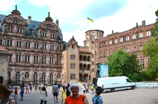 Courtyard of Heidelberg Castle, Heidelberg, Germany ©Stephen Pate