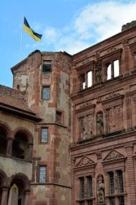 Heidelberg Castle Couryard, Heidelberg, Germany ©Jean Janssen