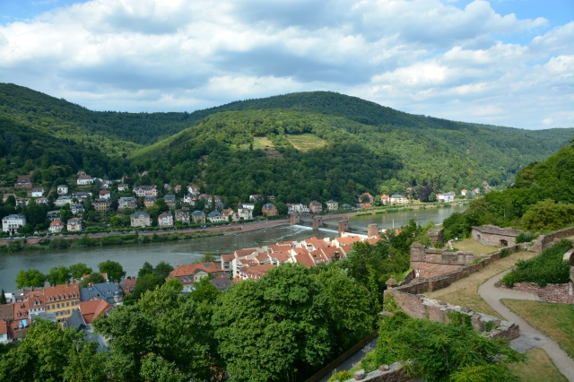 Heidelberg from the castle terrace. ©Jean Janssen