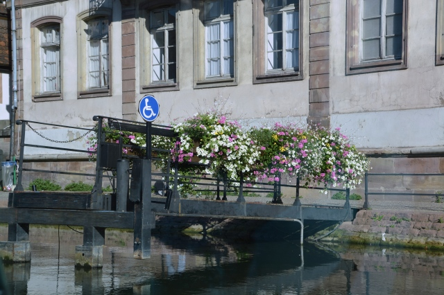 Along the canal, Strasbourg, France ©Jean Janssen