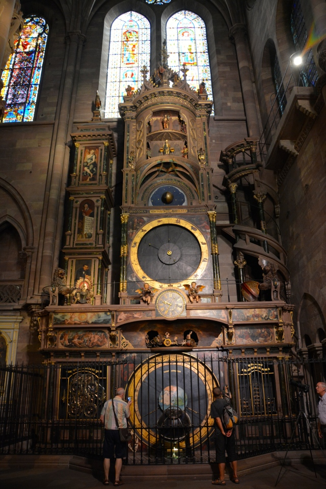 The Astronomical Clock in Strasbourg's Cathedral. ©Jean Janssen