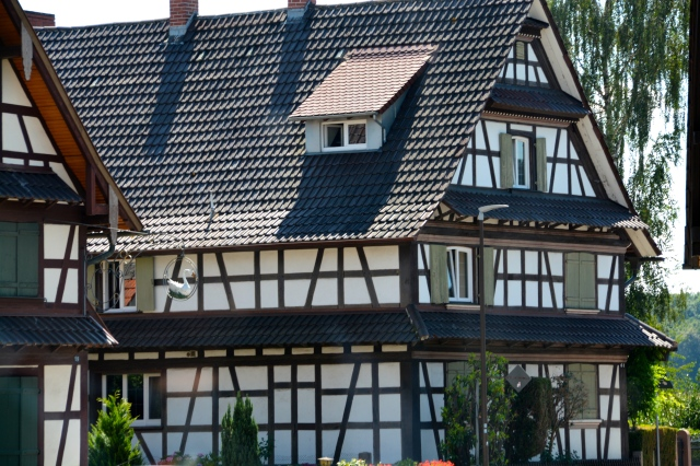 Home in German Village we passed through on our way to the Black Forest. ©Jean Janssen