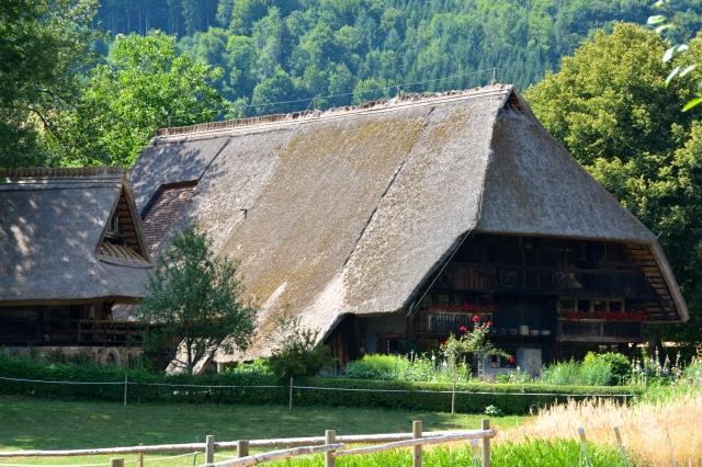 Vogtsbauernhof of 1612 on its original site. Gutach, The Black Forest, Germany ©Jean Janssen