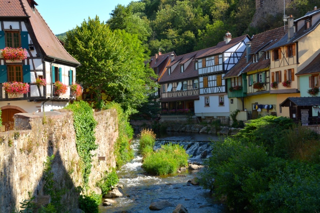 Fairytale town of Kaysersberg, France. ©Jean Janssen