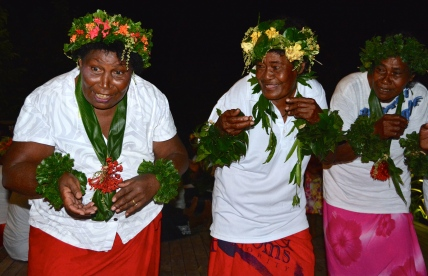 ©Jean Janssen. A performance by the local villagers at Sau Bay, Fiji.