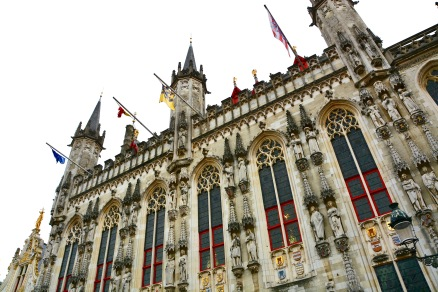 Photo ©Jean Janssen. The City Hall of Bruges